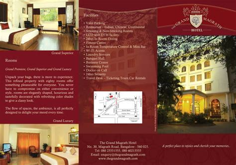 Hotel Brochure Design Templates by Hotel Brochure Design Pdf Www Pixshark Images
