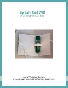 lip balm card holder template 1000 images about svg files on cutting files