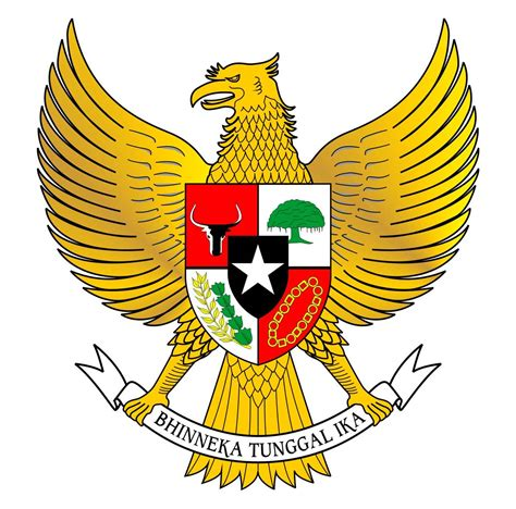 Garuda Pancasila lambang negara garuda pancasila dan keterangannya ruana