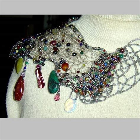 crochet jewelry ideas for including 10 free