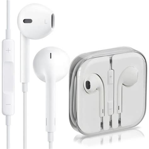 Apple Oem Earphones With Mic Quality White genuine apple iphone 5 5s headphone earpods earbuds earphones with mic