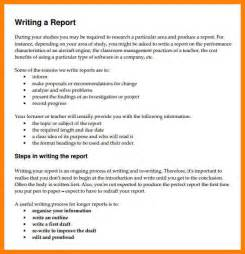 Report Format Essay by 6 Format Of Writing A Report Resume Emails
