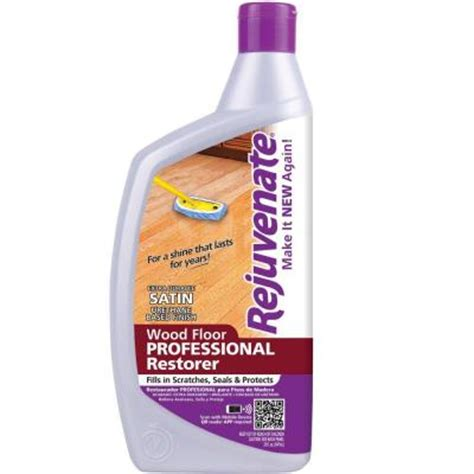 rejuvenate 32 oz professional satin finish wood floor