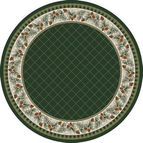 Evergreen Rug 8 Ft Round 8 Foot Rug