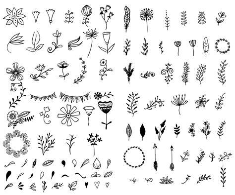 hand drawn vector tutorial hand drawn vector elements kit 15 bonus logos vol 1