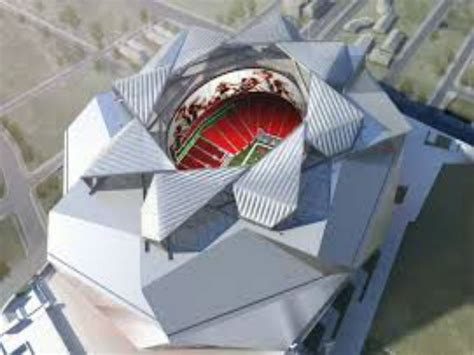 roof construction delays mercedes stadium opening