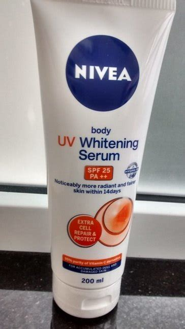 Nevia Serum Whaitening nivea uv whitening serum review