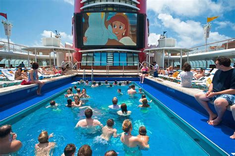 boat club cinema programs the best cruise ships for families
