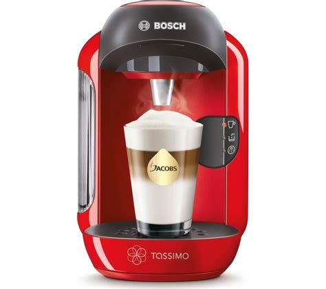 Buy TASSIMO by Bosch Vivy II TAS1253GB Hot Drinks Machine   Red   Free Delivery   Currys