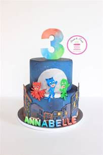 pj masks cake cake by sweets and treats by christina cakesdecor