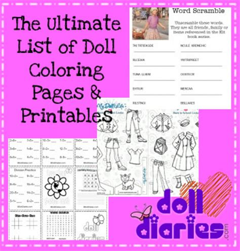American Doll School Worksheets by Daily Woodworking March 2015