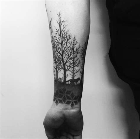 tree line tattoo 55 magnificent tree designs and ideas tattooblend