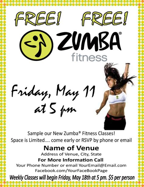 the gallery for gt zumba flyers templates