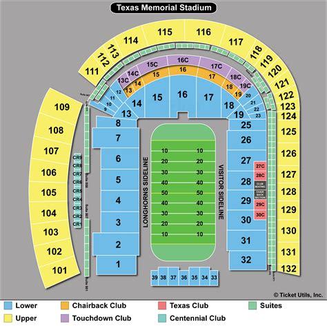 Stadium Seating by Dkr Memorial Stadium Tickets Ut Home Tickets