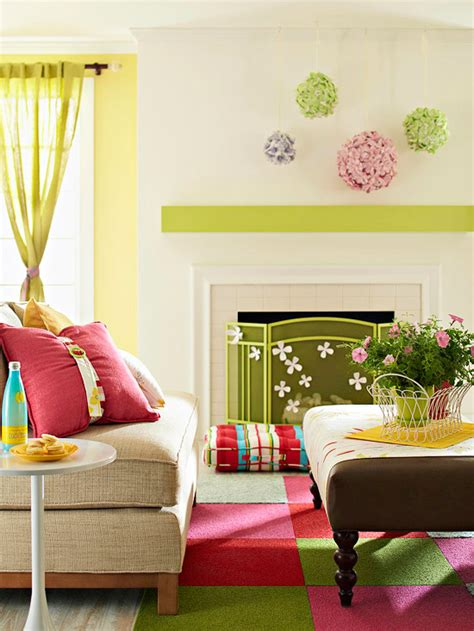 spring living room decorating ideas modern furniture 2013 spring living room decorating ideas from bhg