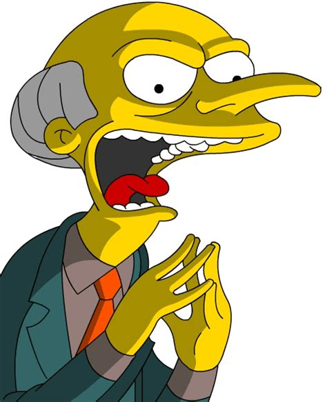 Laughter Burns by Image Mr Burns Evil Gif Simpsons Wiki Fandom Powered