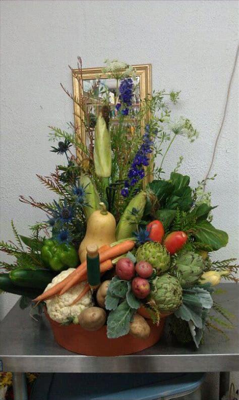 garden arrangements vegetable garden arrangement centerpieces pinterest