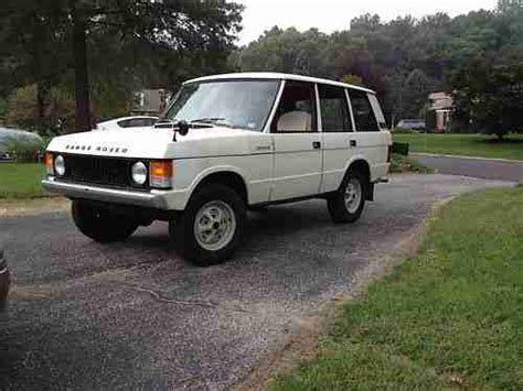 retro range rover find used land rover range rover retro custom 1977