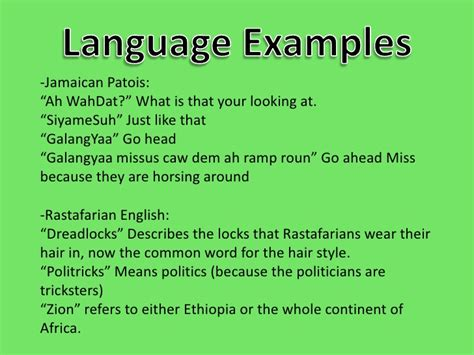 How To Speak Patios by Jamaica