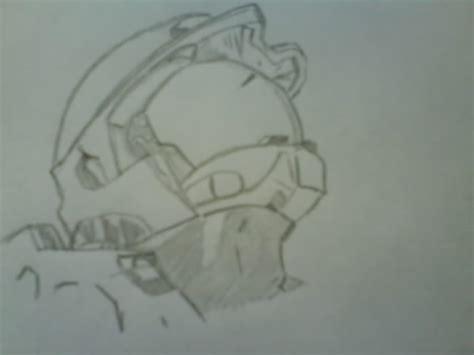 imagenes de halo para dibujar a lapiz mi dibujo master chief de halo taringa