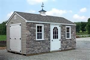 a frame storage shed 10x16