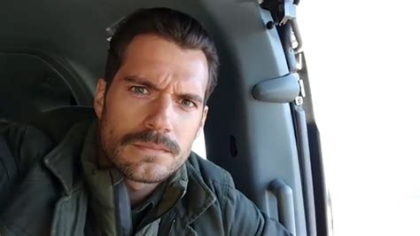 actor with huge mustache everything you need to know about henry cavill s