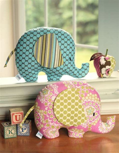 Patchwork Animal Patterns - quilted stuffed animals for those wee ones in
