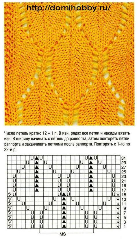Следки спицами без швов схема и описание