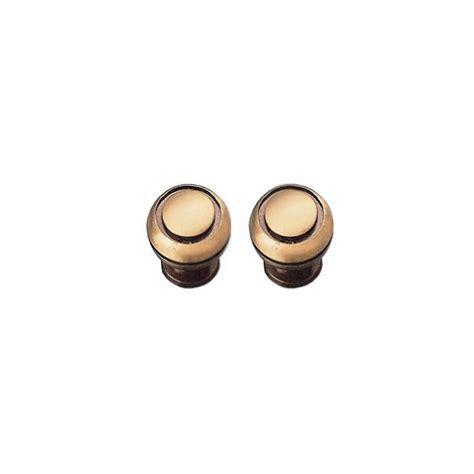 pomelli in ottone pomelli antichizzati in ottone torniti 25 30 mm brico casa