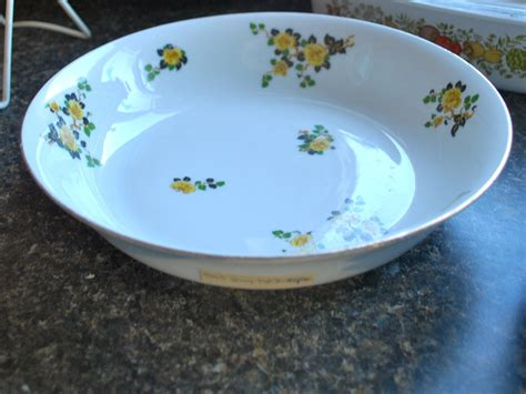 china doll yellow leaves limoges china with yellow flowers and green and