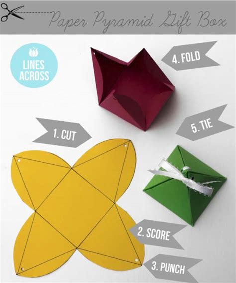 Origami Wrapping Paper Gift Box - 52 insanely clever gift wrapping ideas you ll page