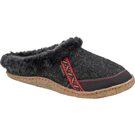sorel womens slippers sorel felt nakiska slide slipper s glenn