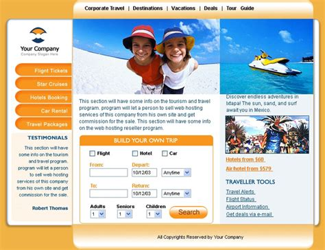 templates for website in php php website themes for travel agency
