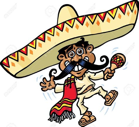 cartoon sombrero free sombrero mexicano coloring pages
