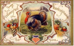 34 vintage thanksgiving postcards free domain