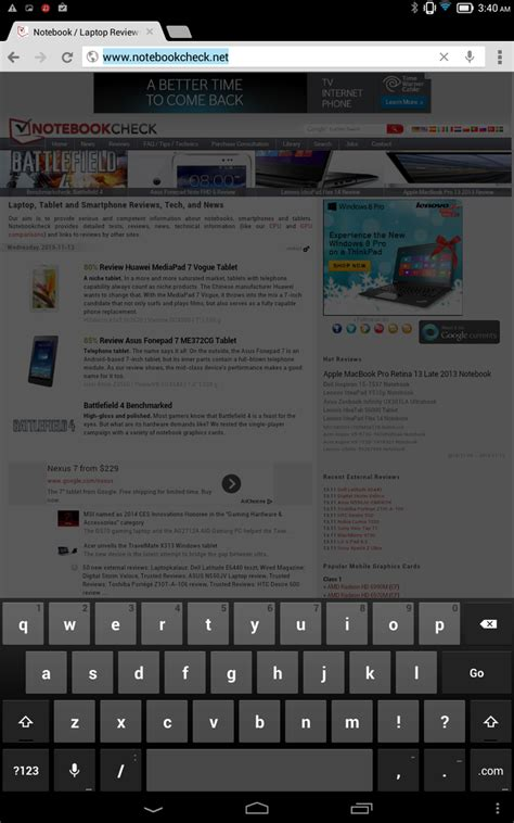 Asus Laptop Touchscreen Einschalten test lenovo ideatab tablet 10 notebookcheck tests