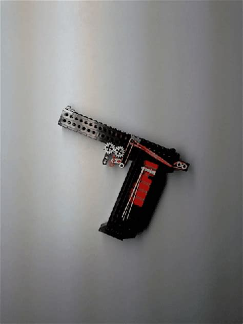 lego knife tutorial functional lego pistol with gif