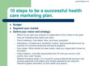 Healthcare Marketing Plan Template by Ppt On Health Care Marketing