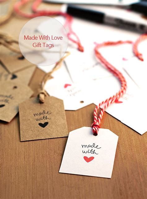 printable gift tags made with love free made with love gift tags she wears many hats