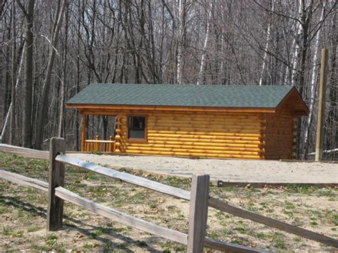 Trophy Cabins by Trophy Amish Cabins Llc 12 X 26