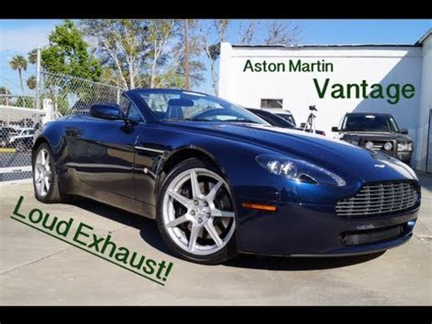 Aston Martin Exhaust by Aston Martin Vantage Review Exhaust Walkaround