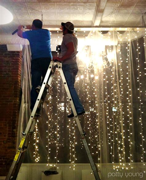 vertical hanging christmas lights 8 twinkle light diys that look completely spectacular