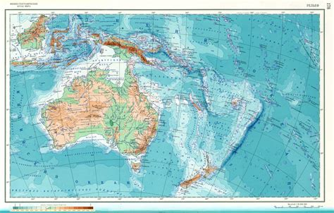 physical map of oceania maps of australia map library maps of the world
