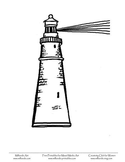 coloring pages lighthouse free printable pin by gina gonzalez ku on kids black and white printables