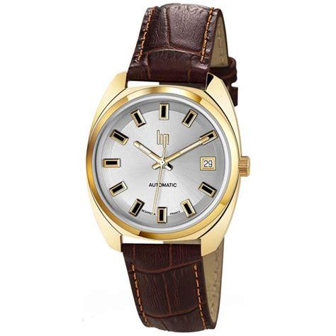 montre lip general de gaulle 671032 montre automatique dor 233 e homme sur bijourama montre