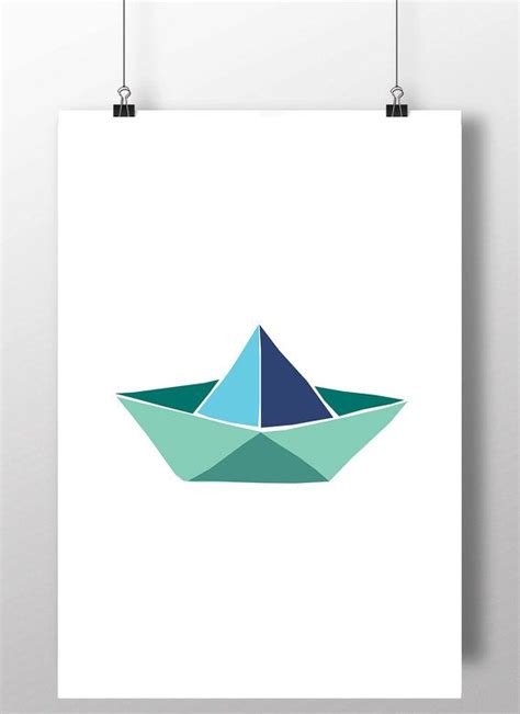 Origami Boat Printable - best 25 boat ideas on boat painting