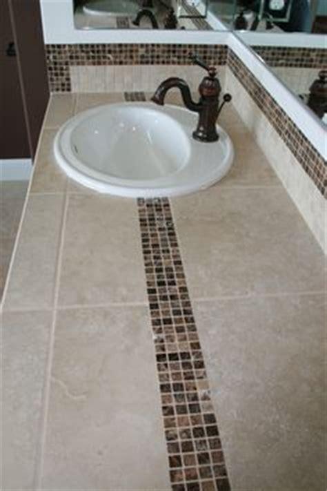 bathroom tile countertop ideas 1000 images about bath countertop ideas on