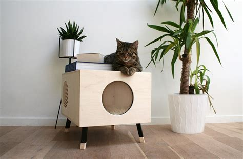 a modern cat house they ll and you won t mind