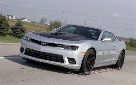 chevrolet camaro spied  zl le rs forms