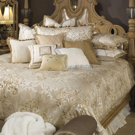fancy bedding luxembourg luxury bedding set michael amini bedding